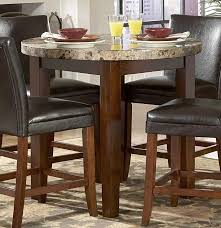 tall round kitchen table round designs