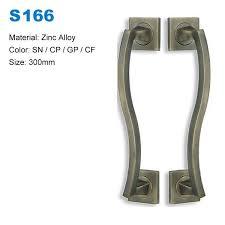 zamak zinc door handle pulls recessed antique door knobs closet glass wardrobe door pulls s166 china manufacturers