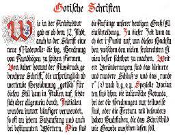 Resultado de imagen para gotische schrift