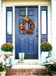 Entry Door With Sidelights Dazzling Blue Front Door And Sidelights