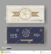 gift certificate for business gift certificate voucher coupon business cards template with line