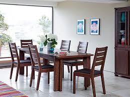dark dining room furniture. wonderful furniture claremount dark extending dining table u0026 4 solid wood chairs to room furniture r
