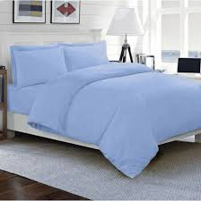 duvet set collection all sizes 1000 thread count egyptian cotton sky blue solid