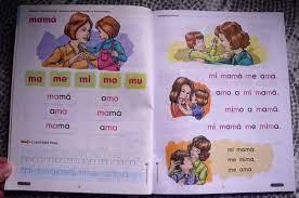 Libro nacho, leccin 2 y 3 etiquetado: Mommy Maestra Nacho Lectura Inicial A Spanish Reading Workbook