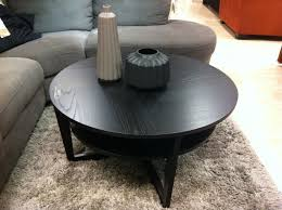 round black coffee table. Coffee Table, Fascinating Low Round Table Wood Black Candle L