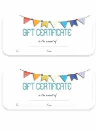 Gift Certificate Template Printable Customizable Christmas Gift Certificate Template Pepino Co