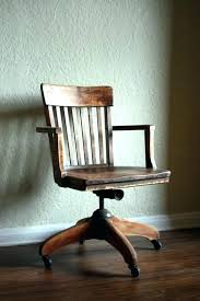 vintage wooden office chair. Antique Wooden Office Chair Vintage Wood Old For Wonderful Swivel Oak N