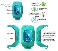 Купить детские часы <b>Smart Baby Watch</b> Q50 с GPS трекером ...