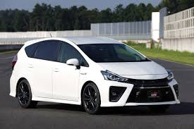 2018 toyota prius v. contemporary prius the 2018 toyota prius  known as the v wagon in states will  get gr sport treatment later this year on toyota prius s
