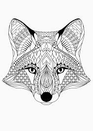 Adult Coloring Pages: Fox 1 | Adult Coloring Pages | Pinterest ...