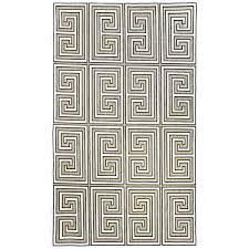 greek key austin machine made tan area rug by nuloom a greek pattern rug greek