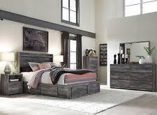 modern queen bedroom sets. AMBROSE Modern Gray 5pcs Bedroom Set Furniture W/ Queen LED Lighted Storage Bed Sets C