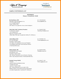 Executive Format Resume Elegant How To Format A List References