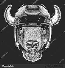 буффало бизон бык бык рука изображения тату эмблема логотип знак