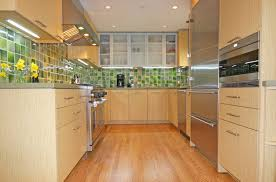 Galley Kitchen Designs Ideas And Stainless Steel Cabinets With Home