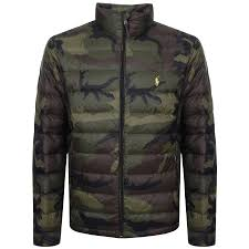 ralph lauren bleeker down jacket green