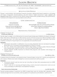 Non Profit Resume Examples Nonprofit Resume Accounting Director