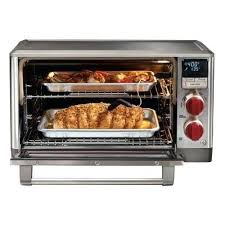 wolf gourmet elite convection oven stainless steel with knob countertop cbg100sc