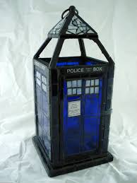this tardis stained glass lantern is fantastic pic global geek news