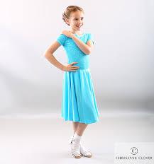 Ivy Latin Dress Age 5 6 Blue Paradise