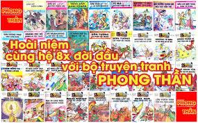 """Ở nhà làm gì: Hoài niệm cùng thế hệ 8x đời đầu với bộ truyện tranh """"Phong  Thần"""" xuất bản năm 1991"""