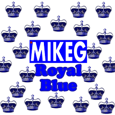 Mike G Royal Mixtapemonkey Blue -