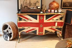 Union Jack Chest eclectic-living-room