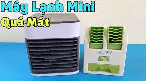 Máy Lạnh Mini, Quạt Điều Hòa Siêu Mát Dùng Trong Mùa Nóng - YouTube
