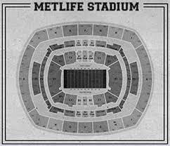 Metlife Stadium Seating Chart Print Of Vintage Metlife Stadium Seating Chart Seating Chart On Photo Paper Matte Paper Or Canvas