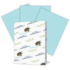 Amazon Com Hammermill Paper Colors Blue 24lb 8 5x11 Letter
