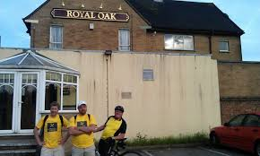 outside the royal oak in new bilton rugby