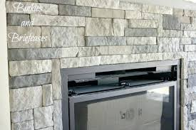flat stone fireplace fireplace makeover flat stone around fireplace