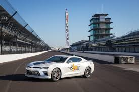 The Camaro 50th with Custom Wheels will Pace the Indy 500