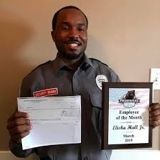 Employee Of The Month Write Ups Security Guard Honors Awarded As Employees Of The Month In