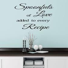 kitchen wall art stickers