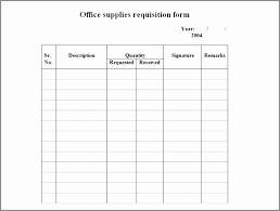 4 Requisition Form Templates Excel Xlts Sample Stock Request Form ...