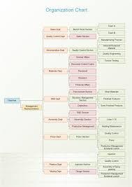 Enterprise Structure Org Chart Free Enterprise Structure