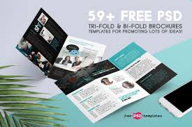 59+ Free Psd Tri-Fold & Bi-Fold Brochures Templates For Promoting ...