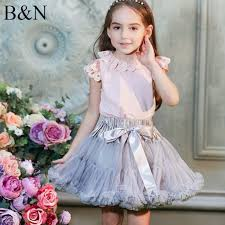 <b>Buenos Ninos Girls</b> Fluffy 2-18 Years Chiffon Pettiskirt Solid Colors ...