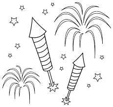 Small Picture Coloring Pages 4th July Fireworks Clip Art Get Coloring Pages