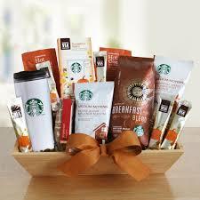 awesome starbucks gift basket