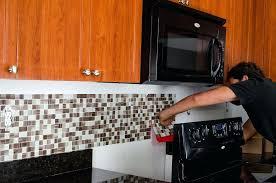 tile backsplash diy tile kit bamboo subway tile backsplash installation labor cost