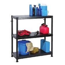barton modular plastic shelving unit