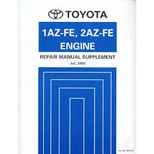 2003 TOYOTA RAV4 1AZ-FE 2AZ-FE ENGINE REPAIR MANUAL