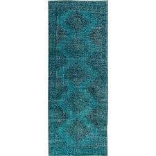 simply beautiful vintage turkish overdyed rug