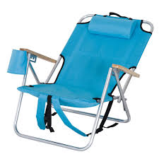 outdoor camping chair. Outsunny Aluminum Outdoor Folding Reclining Camping Chair Backpack Portable Picnic Seat W/ Headrest And Cup I