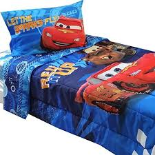 4pc disney cars twin bedding set