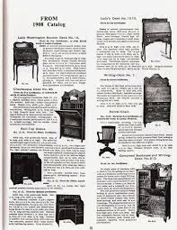 this scan of page 15 from the larkin oak catalog of 1908 shows some of the