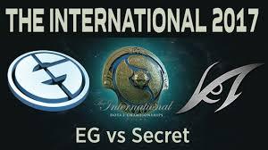 dota 2 live eg vs secret the international 2017 secret vs