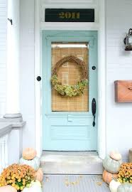 doors farmhouse front door colors pastel blue with glass beautiful wreath hardware color